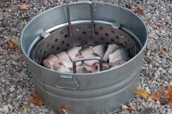 Fish before boiling