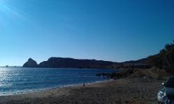 Mavrospilia Beach