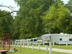 Camping row