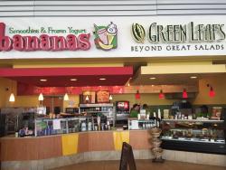 Green Leafs and Bananas