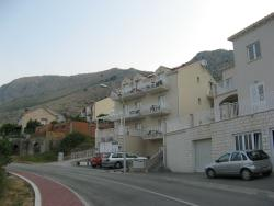 Exterior view of the Villa Samba (where the red car is parked)