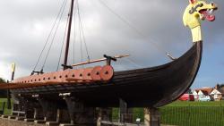 The Viking Ship 'Hugin'
