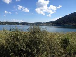 Çevreden göl manzaraları