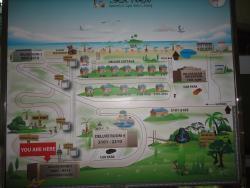 Карта отеля.