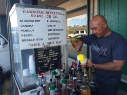 Hawaiian Blizzard Shave Ice