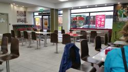 Seating Area at Supermac's Cork