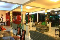 Recepción de Las Poncianas Hotel en Casma - Perú