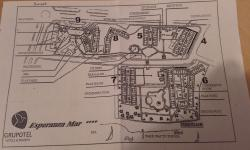 map of hotel