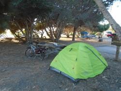 bike/hike campground cheap and great!