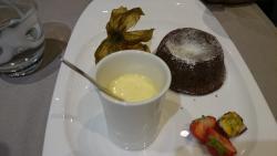 Mousse au chocolat, caramel au beurre salé