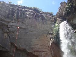 Cannyon e Cachoeira do Rio São Jorge