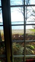 Beautiful view of the lake from our room