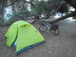 bike/ hike campground