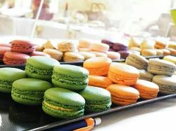 Macarons chocolats