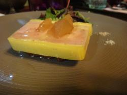 Terrine de foie gras de canard à la vanille bourbon