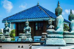 Gangaramaya Buddhist Temple, Colombo 2, Sri Lanka (156700591)