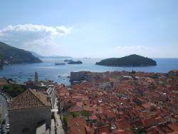 View from Minceta Fortress