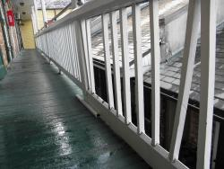 Water from the AC, rails need replacing.