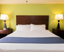 The King Suite (Ocean View) at the Holiday Inn Hotel & Suites Daytona Beach