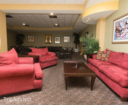 Seaside Restaurant, Bistro and Lounge (PRE-RENOVATION) at the Holiday Inn Hotel & Suites...