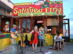 The Satisfied Frog Rocky Point Mexico Beach Bar