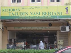 Restoran Tajudin Nasi Briani