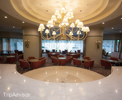 Lobby at the Hotel Listel Inawashiro Wing Tower