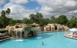 Pool is wonderful and spacious