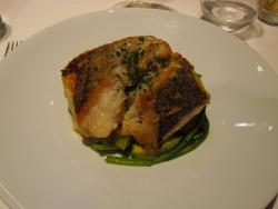 Hake with fresh vegetables