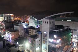 Вид с крыши отеля - рыбный рынок