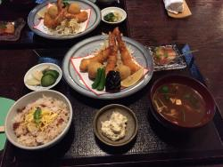 Houzenji Yokocho Iseebi cuisine Ebiya
