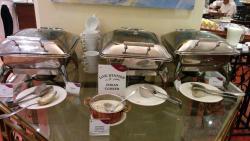 Breakfast at Al Dana, Crowne Plaza, SZ Road, Dubai