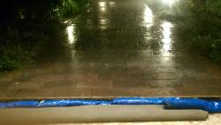 Flooding at Belvil 2015
