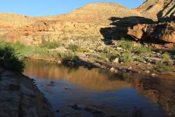 The Virgin River Canyon Recreation Area