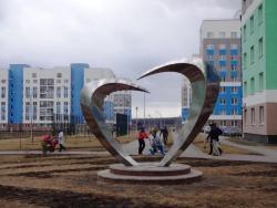 Скульптура Сердце