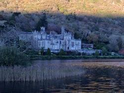 Kylemore Abbey, a short drive from the hotel