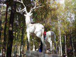 Sculpture Deers