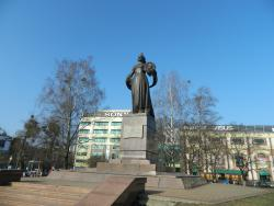 Monument of Mother Russia
