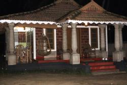 The Bungalow at night