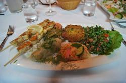 delicious mixed plate