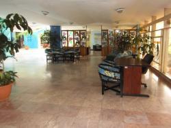 Aufenthaltsraum im Hotel