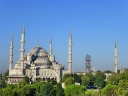 Den Blå Moské (Sultan Ahmet Camii)
