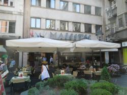 Hôtel Majestic à Belgrade restaurant