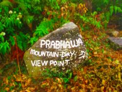 Prabhawa Mountain Day View Point Haputale