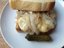 Tom's sandwich