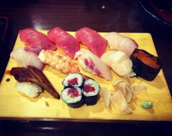 Fresh sushi and fast service