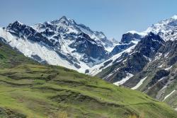 Mountains surrounding Dushanbe