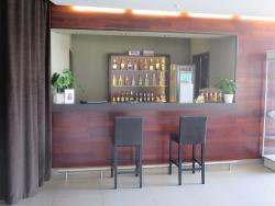 small lobby bar
