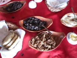 Breakfast - Venezuelan style!