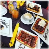 Madame Crepe & Mr. Waffle